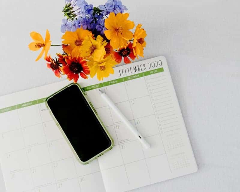 September 2020 planner and techy tools tools